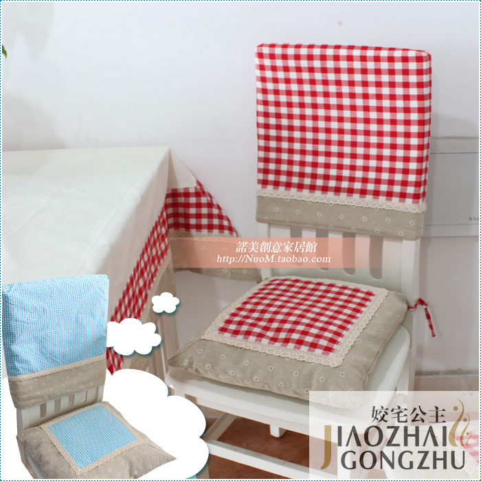 Princess chair slipcover set thickening core pad fabric dining table cushion - hexin liu's store
