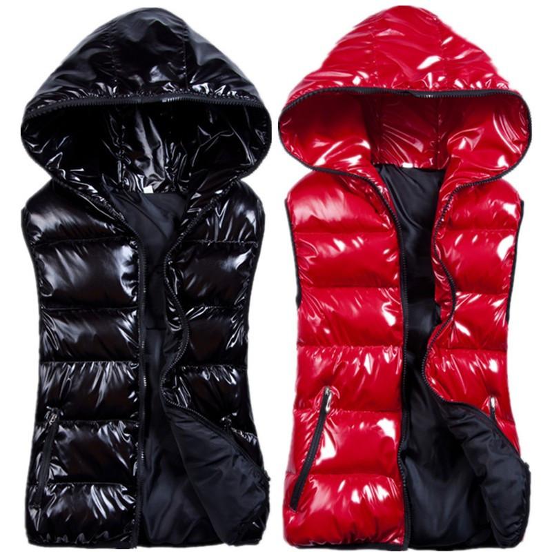L/3XL Autumn winter plus size Women vest hood Thickening jacket waistcoat slim cotton women Outdoor - Frogwill Boutique Garment store