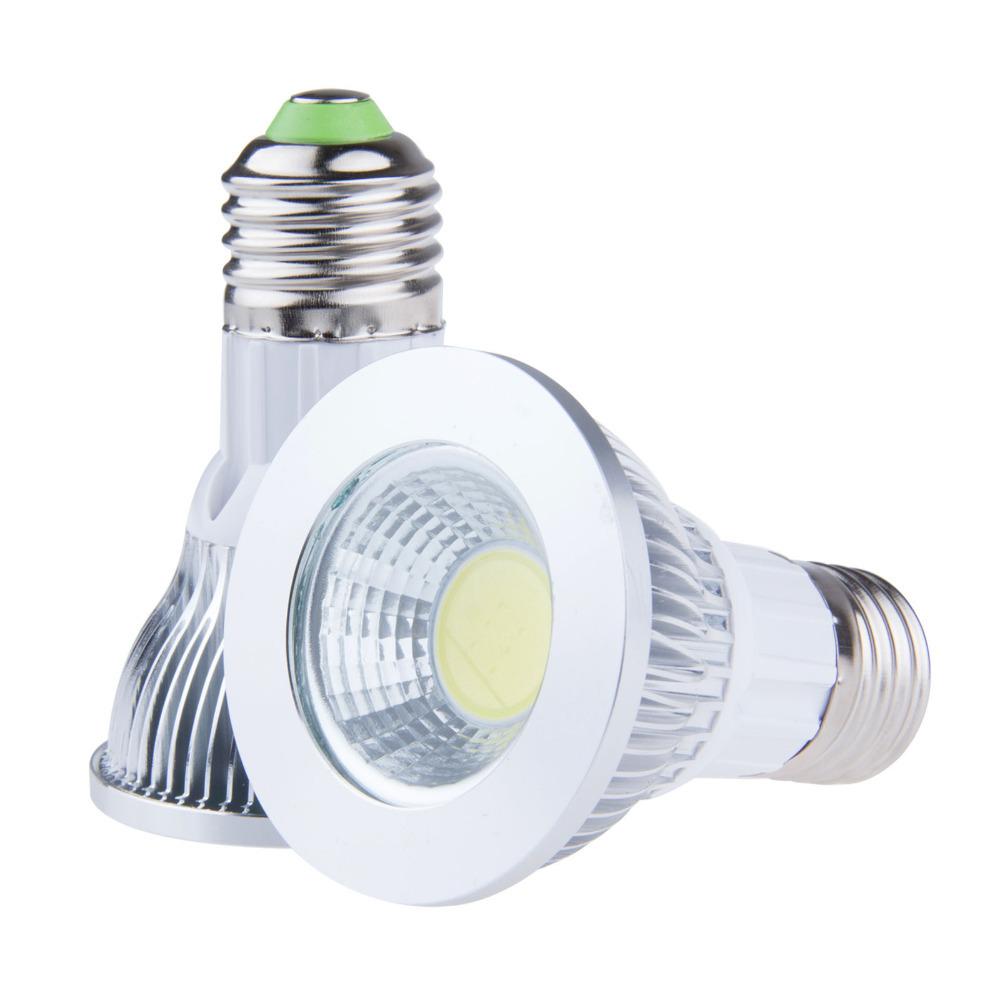 9W LED COB Bulb Light Par20 E27 socket 110V 220V Warm/Cool White LED Ceiling Spotlight Lamp Uniform lighting, Bright and soft(China (Mainland))
