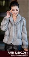 Миссис Лонг пунктах импортированных норки норковые пальто талии тонкий женский норка норки Шуба весь