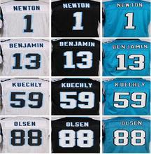 Shop Discount SexeMara Best quality jersey,Elite 1 cam 13 Benjamin 88 Olsen 59 Kuechly Jerseys,Size M-XXXL(China (Mainland))