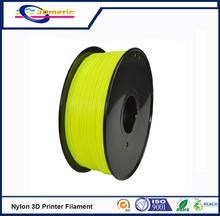 3D Printer Filament For MakerBot RepRap UP Mendel 1.75mm 3mm 1KG Clear PA Nylon 3D Printer Filament Consumables Material