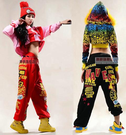 Hot! 2015 Fashion brand Adult Women Trousers Performance wear sweatpants costume female knitted loose harem Hip hop dance pants(China (Mainland))