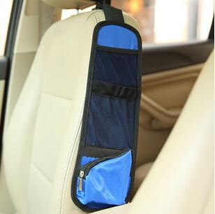 3pcs/lot Car seat side storage pockets multifunction auto sundries organizer car storage bag free shipping(China (Mainland))