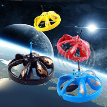 Infrared Sensor Flying Saucer UFO Hand Induced Hovering and Floating Flight with LED Flashing Light(China (Mainland))