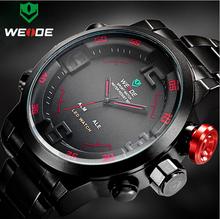 Segundos matan Dieseler relojes de marca, gran dial analógico a la aguja y electrónico digital relojes hombres reloj de cuarzo