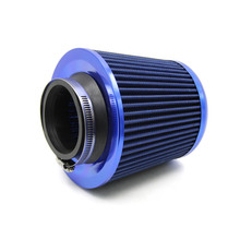 """Universal Car 3"""" Air Filters Round Tapered Clamp-On Stack Filtration Micro Cotton Gauze Cold Air Intake Filters(China (Mainland))"""