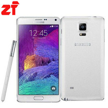 Samsung Galaxy Note 4 N910F Original Unlocked Android Mobile Phone Quad core 3GB RAM 3G 4G