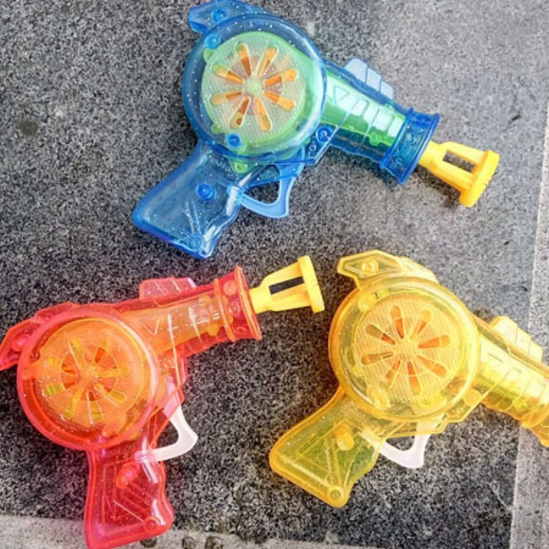 led Shining bubble gun Outdoor toys kids soap bubble blower child toy baby toy gift water gun good package(China (Mainland))