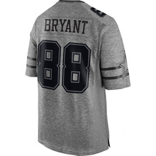 #88 Jason Witten Cheap Men's #4 Dak Prescott #21 Ezekiel Elliott 100% Stitched Logos Gray Gridiron Gray Limited(China (Mainland))