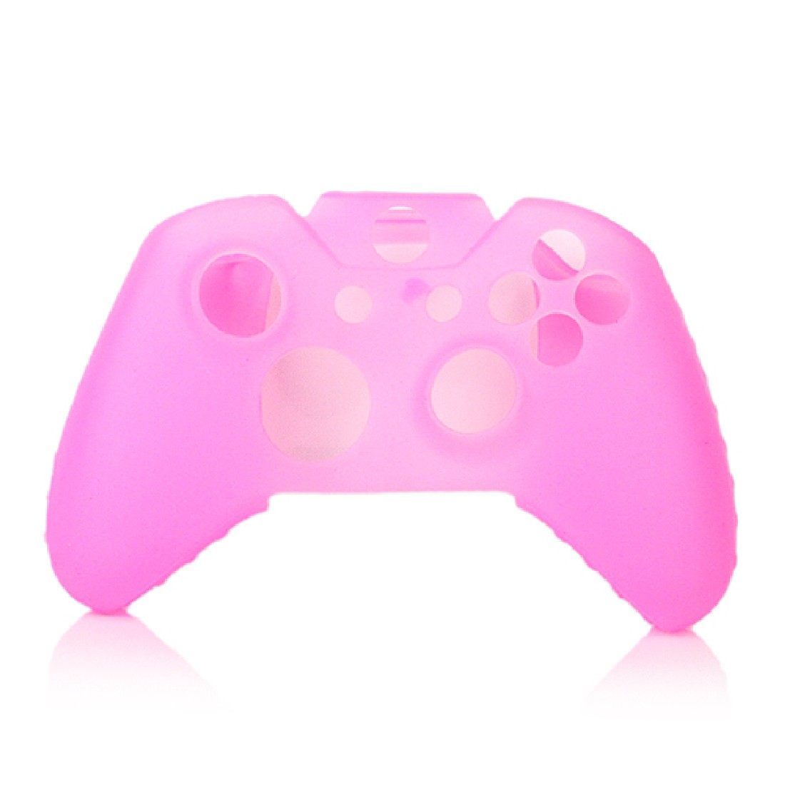 New Fashion Pink Silicone Rubber Gel Skin Soft Case Cover For Xbox One Controller Satisfying Choose Case Best Quality(China (Mainland))