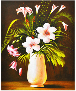 DIY 5D Acrylic Diamond Painting Romantic Lily Flower \u0026 Vase .  sc 1 st  Tes & 1 Flower Art - Lessons - Tes Teach