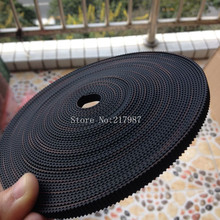 Hot sale 10meter GT2-6mm open timing belt width 6mm GT2 belt hermet belt BT0348-3D(China (Mainland))