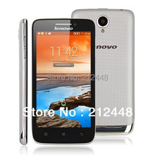 "Case&film free!Lenovo S650 phone silver white MTK6582 quad core 1.3ghz 4.7"" IPS screen 960*540 1G RAM 8G ROM Dual SIM android4.4(China (Mainland))"