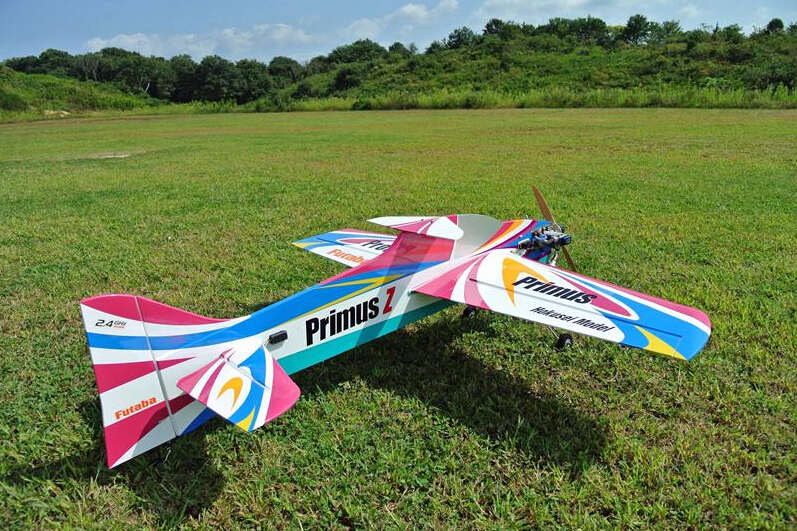 New! Hokusei New version Primus profile 70 class RC airplane kit format for OS GTT 15cc gas gasoline 70 - 90 nitro engine(China (Mainland))