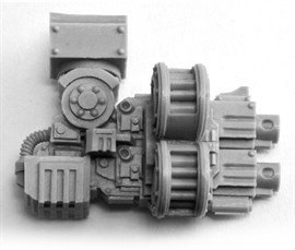 forge world 40K CONTEMPTOR PATTERN HEAVY BOLTER ARM(China (Mainland))