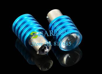 2x1156 BA15S 12W CREE Q5 DC 12V-30V Car LED Reverse Lamp Lights Brake Light Bulb New TK0305