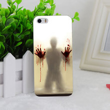 A0785 Scary Shower Curtain Transparent Hard Thin Case Cover For Apple iPhone 4 4S 5 5S SE 5C 6 6S 6Plus 6s Plus(China (Mainland))
