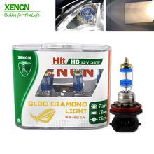 Buy XENCN 12V 35W PGJ19-1 4300K Super White Fog Halogen Bulb H8 Car Headlight Lamp Parking External Lights Xenon Car Light Source for $36.90 in AliExpress store