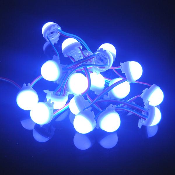 LED Modules 100pcs advertisement billboard modulez light dc12v full color 30mm 3LEDs SMD5050 Waterproof WS2811 led pixel<br><br>Aliexpress