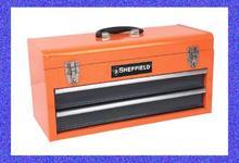 Estándar americano caja de herramientas mecánico herramienta especial de dos cajones de acero caja de herramientas caja de herramientas portátil especiales