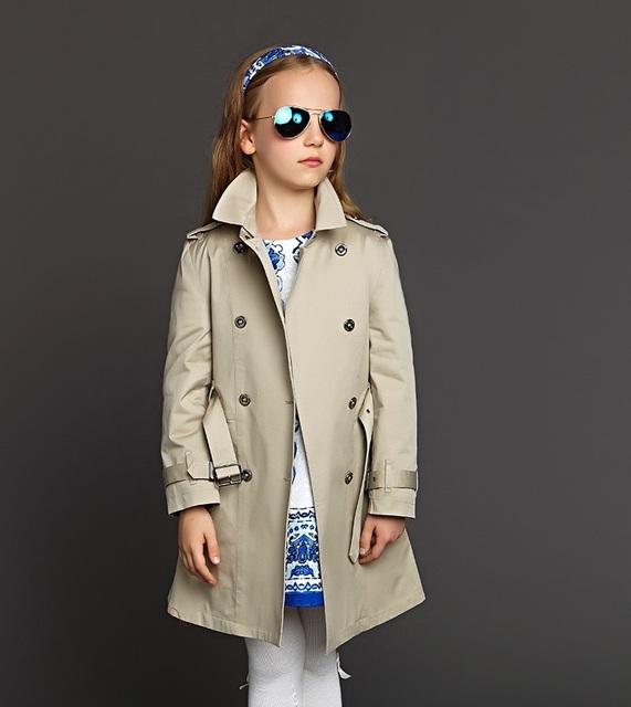 Новое поступление верхней одежды для девочек 2015 Roupas Infantis Menina высокое качество девушки ветровка мода детей Fit 3 - 12 г