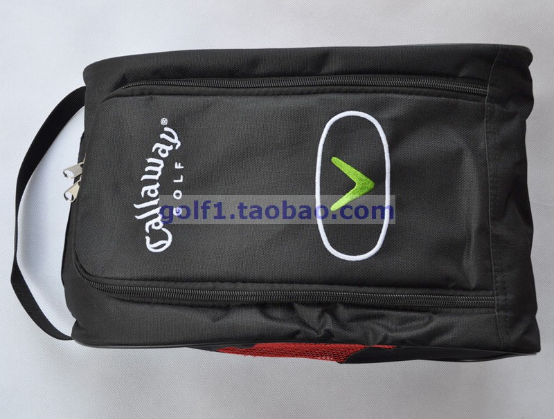 Free Shipping 2016 golf shoes bags golf shoes package high-grade nylon material light and practical(China (Mainland))