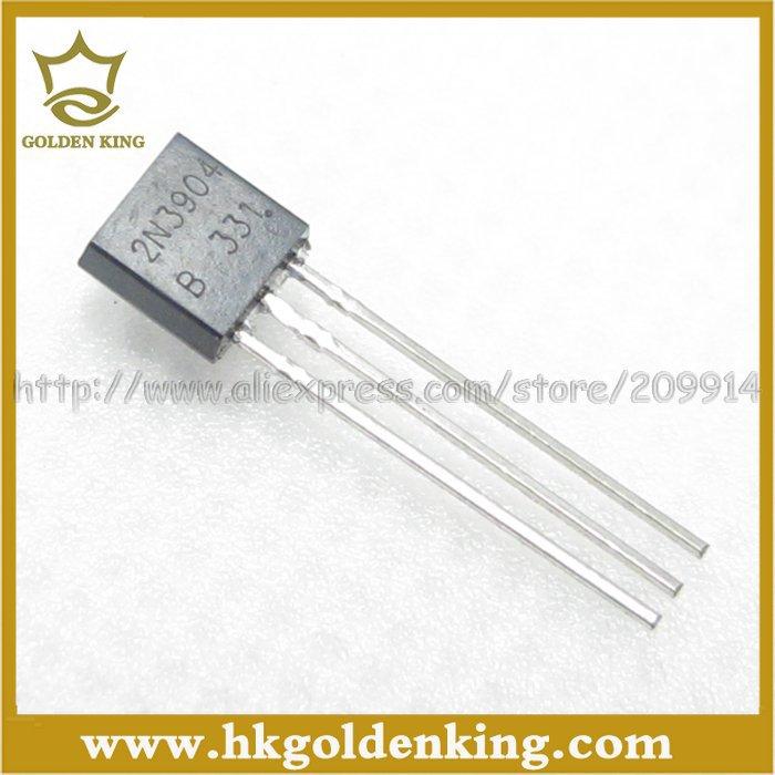 1000pcs/Lot 2N3904 MMBT3904 3904 TO-92 12+ Free shipping(China (Mainland))