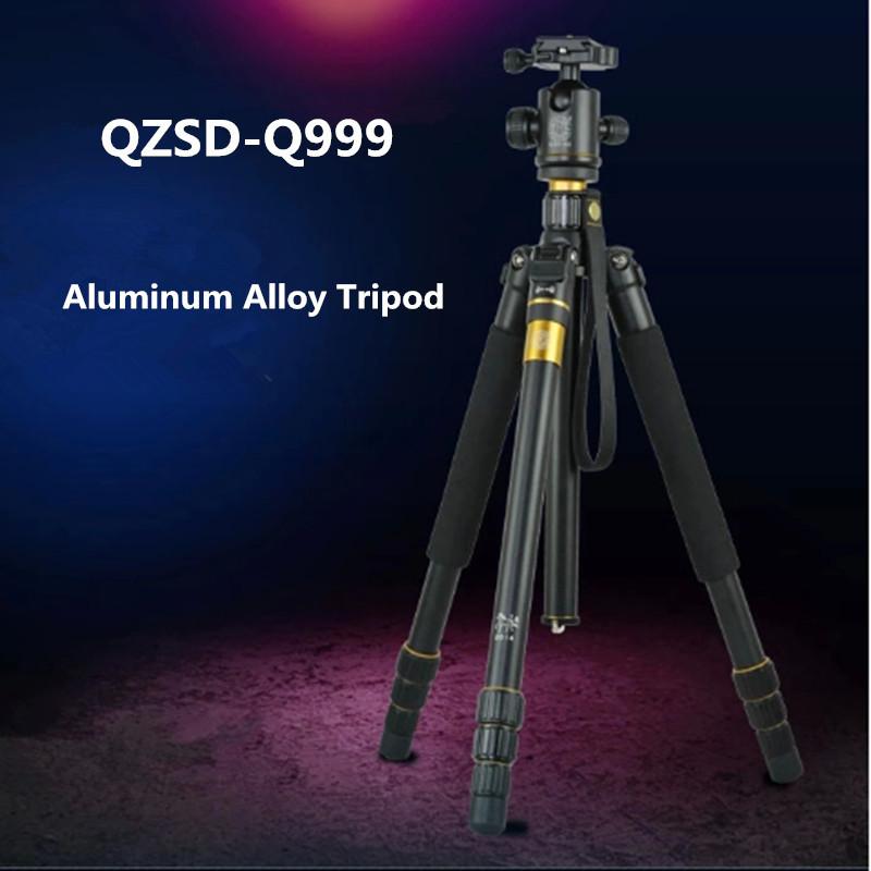 QZSD Q999 Portable Tripod For SLR Camera Tripod Ball Head Monopod Changeable Load Bearing 18KG(China (Mainland))