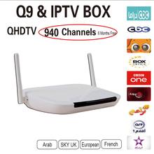 Пульт дистанционного Управления Бесплатный Арабский IPTV Box 700 Плюс IPTV Арабский Канал TV Box Android 4.2 WiFi HDMI Smart Android Mini PC TV Box MS036