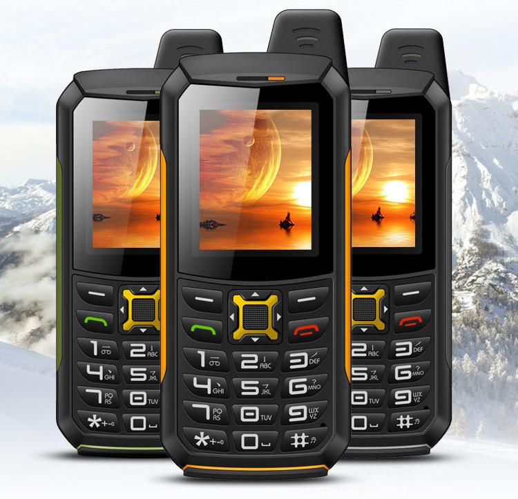 CDMA GSM Mobile Phone YSFEN M21 IP67 Waterproof Power Bank Phone 2.0 Inch Screen 4800mAh Big Battery Loudspeaker Russian(China (Mainland))