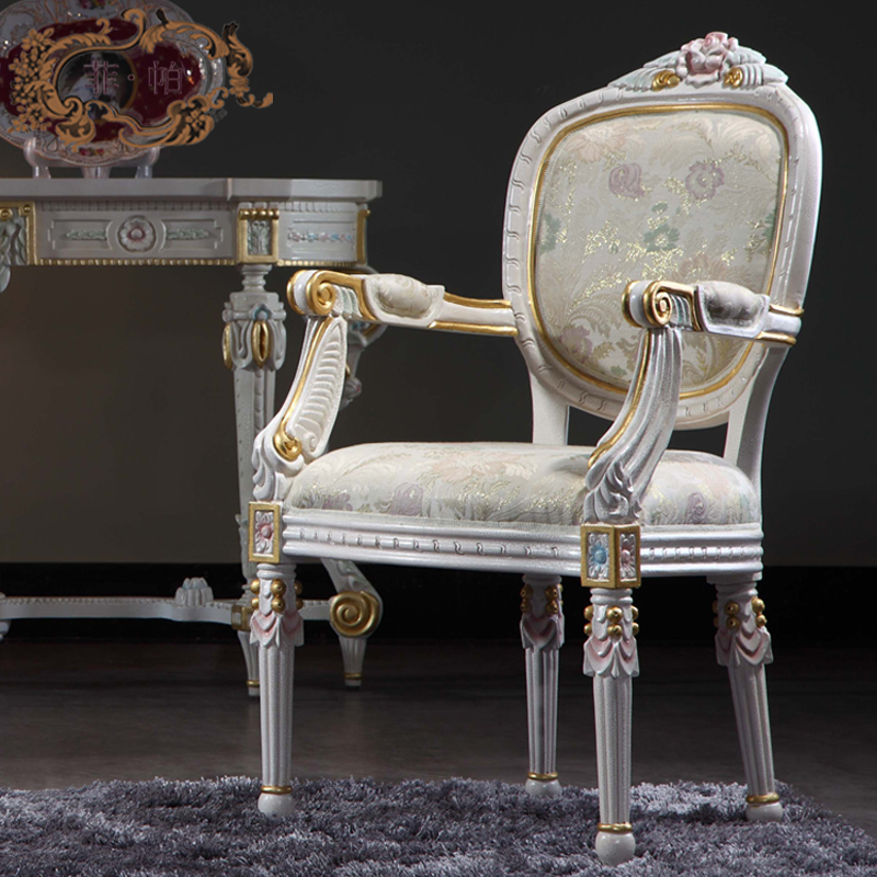 italian antique furniture solid wood royalty dining