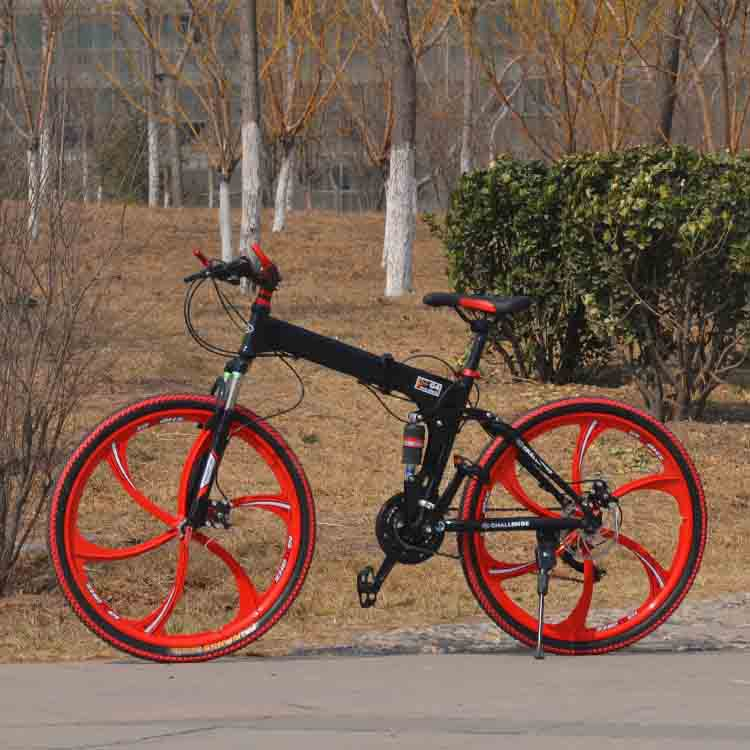 21 speed 26 inch folding bicycle double disc bicycle popular and fashionable element worthing own it