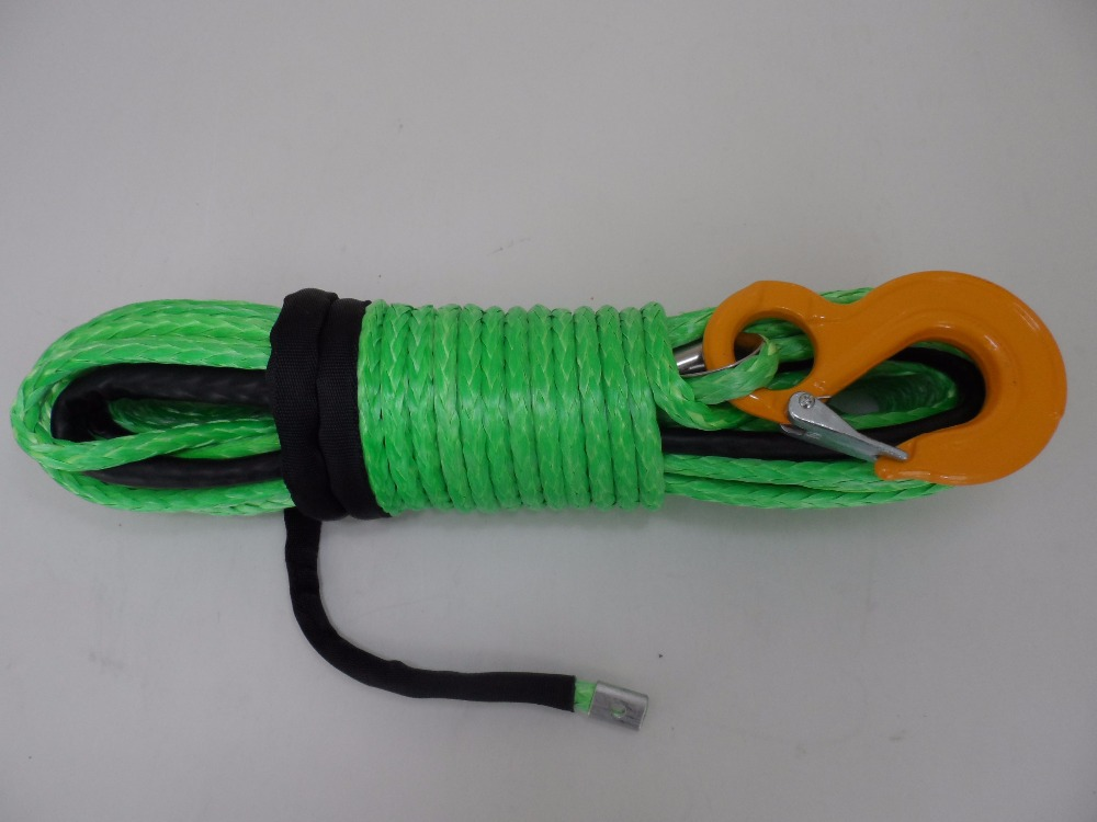 8mm*30m plasma winch rope,synthetic winch line(China (Mainland))