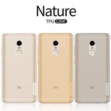 Nillkin nature Clear Soft silicon TPU Protector case cover free shipping redmi note 4 case cover for xiaomi redmi note 4 pro(China (Mainland))
