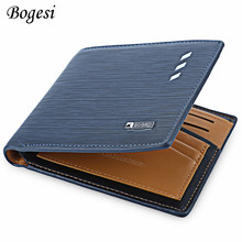 Buy 2017 fashion men short wallets dollar price Male leather business money purses credit card photo holder wallet K029 for $5.84 in AliExpress store