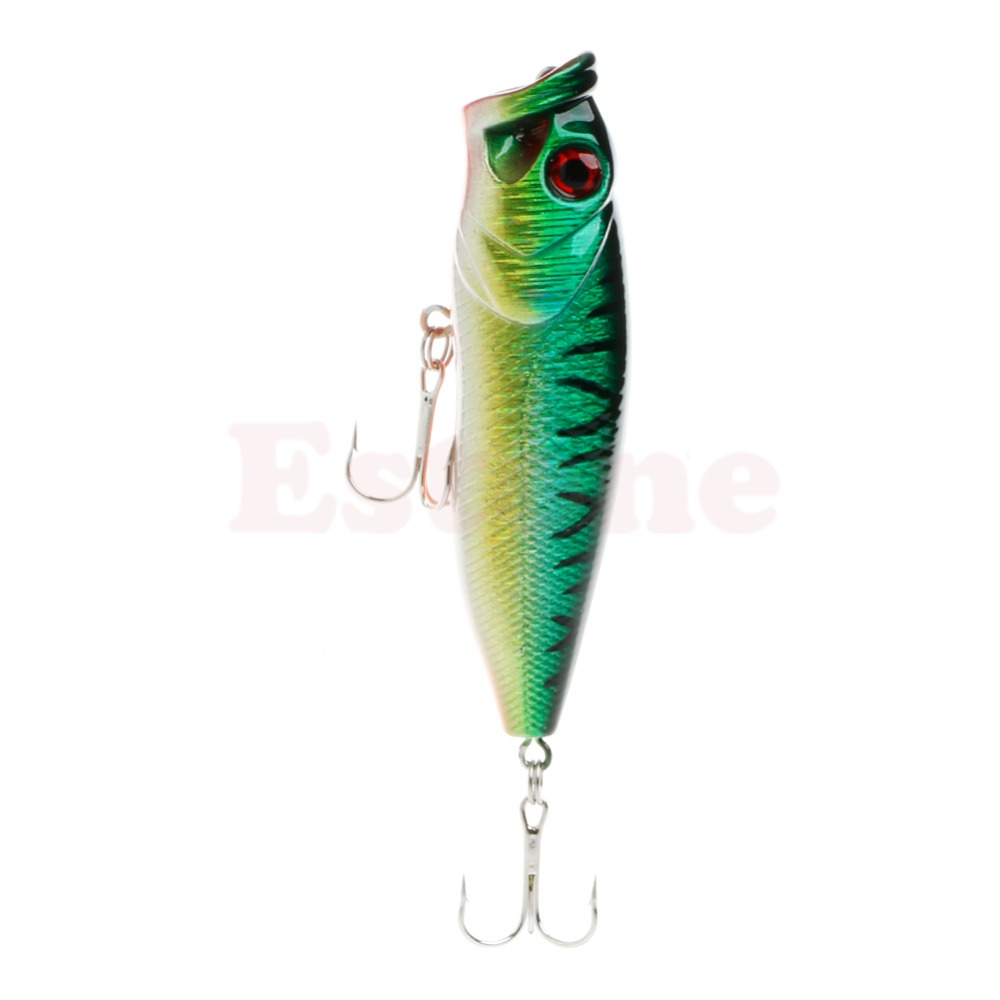 F85 Free Shipping Lot Topwater Minnow Fishing Lures Bait Crankbait Tackle 8CM/14g<br><br>Aliexpress