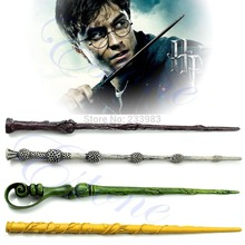 Free Shipping Collection Wizard Harry Potter Magic Wand Deathly Hallows Hogwarts Gift(China (Mainland))