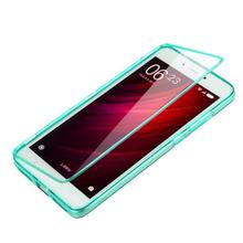 Buy xiaomi redmi note4 case High 100% transparent material Flip TPU Back cover xiaomi redmi note4 note 4 Phone Bag cases for $5.99 in AliExpress store