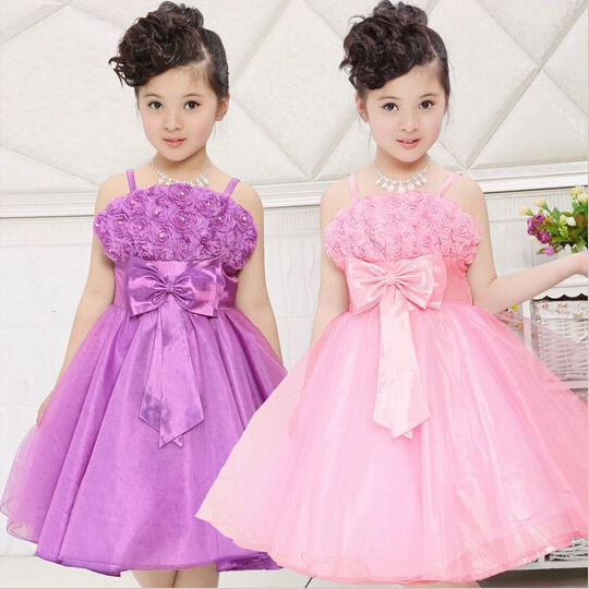 Wholesale Fashion Hotsell Baby Girls Tutu Dress Princess Wedding Dresses Children Party Clothes <br><br>Aliexpress