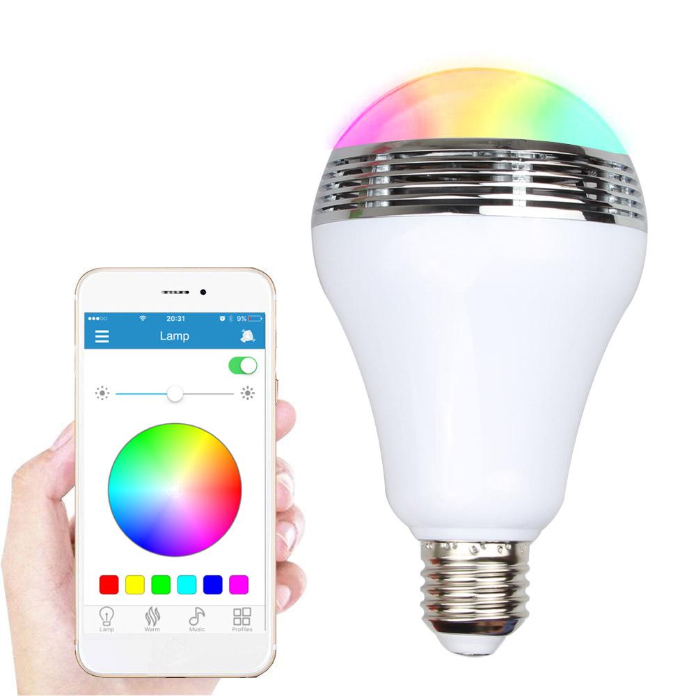 Buy bluetooth led light bulb speaker rgb for Best bluetooth light bulb speaker