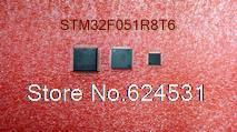 Free shipping STM32F051R8T6 32BIT 64KB 64LQFP STM32F051R8 32F051R STM32F05 32F051R8 STM32F0 32F051R8T(China (Mainland))