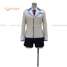 Buy Kisstyle Fashion Flag Breaks Megumu Tozokuyama Uniform COS Clothing Cosplay Costume,Customized Accepted for $80.99 in AliExpress store