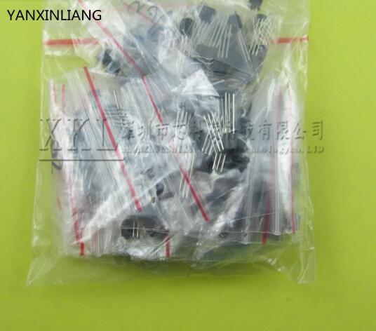TL431 A733 C1815 A1015 C945 2N3904 2N3906 S8050 S8550 2N2222 20valuesX5pcs=100pcs,Transistor Assorted Kit(China (Mainland))