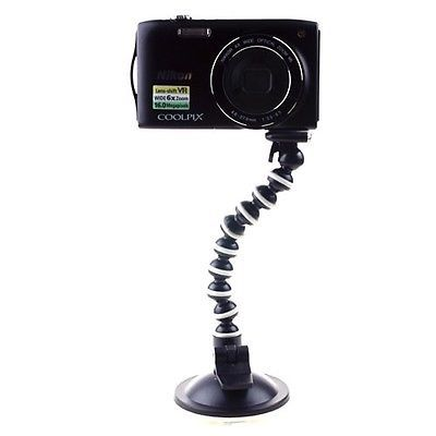 10pcs Large Stand Vacuum Suction CUP Flexible Mount Tripod for Camera DV GPS Webcam(China (Mainland))
