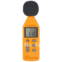 Digital de nivel de sonido ruido Decibel Monitor Meter envío gratuito