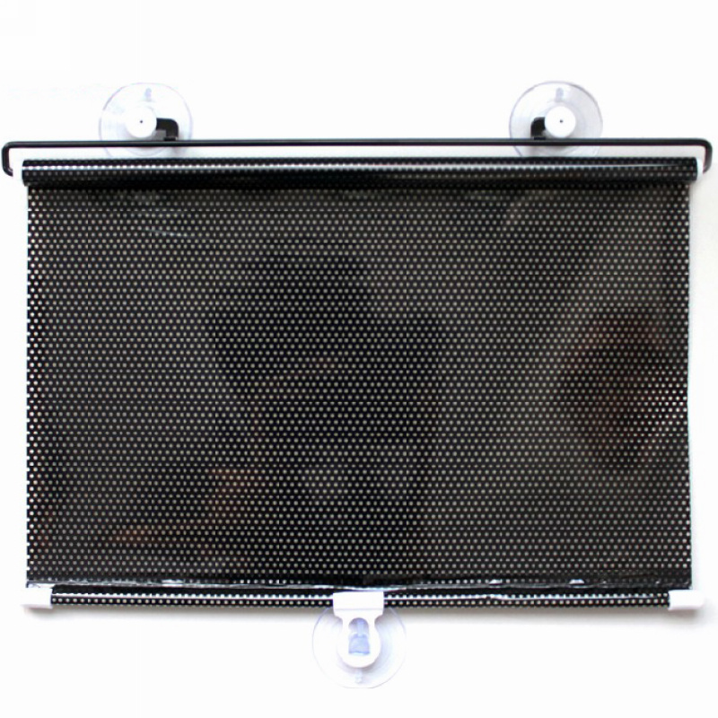 """High Quality 50""""X20"""" Car Front Window Sunshade Cover Auto Retractable Car Curtain Sunshade Windshield Free Shipping(China (Mainland))"""