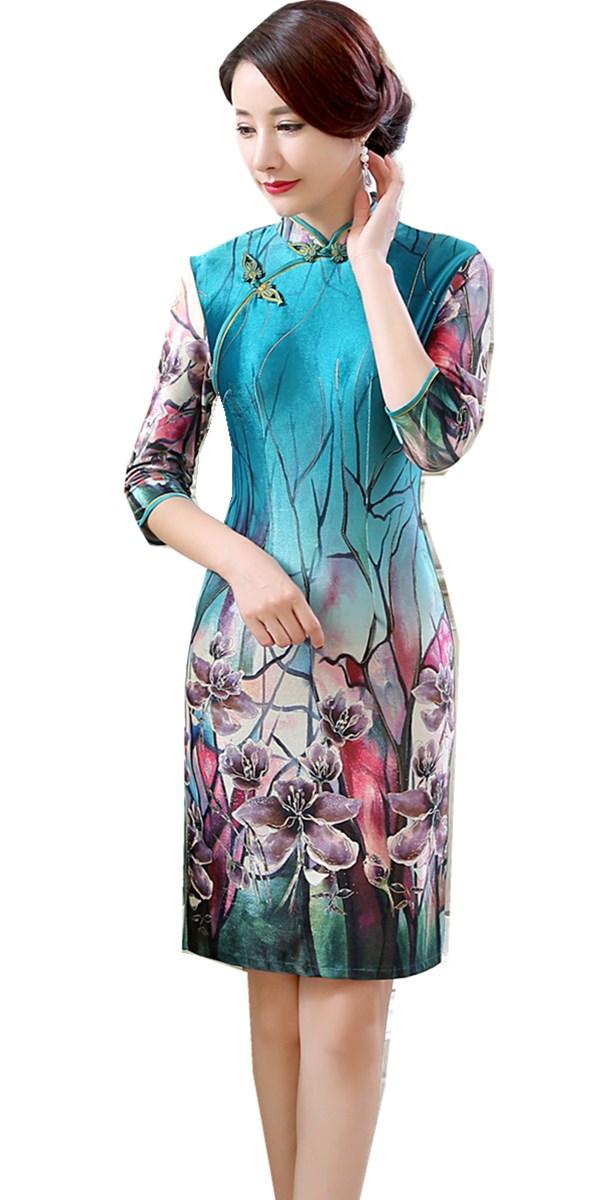 Купить Платье В Китайском Стиле В Спб