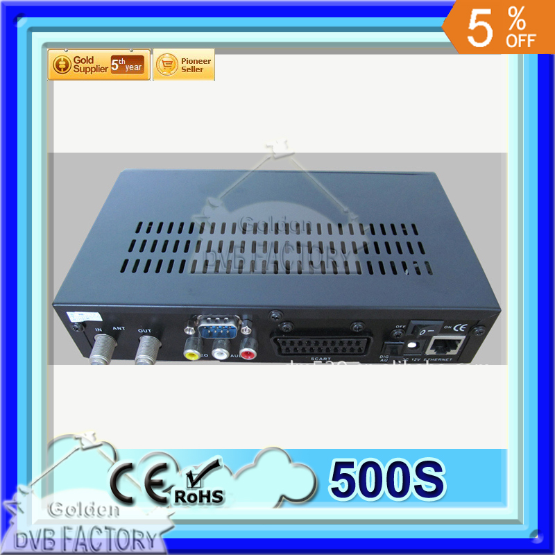 Free Shipping to NORTH AMERICA By CHINA Post Air Mail BlackBox 500s DVB with unlimited channel lists for TV/Radio(China (Mainland))