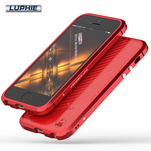 Buy iPhone SE Luxury Original Brand Luphie Aluminum Metal Bumper Apple iPhone 5S 5 Case Column Shape Frame Metal Button for $9.59 in AliExpress store